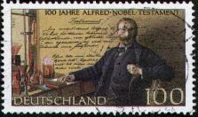 Alfred Nobel Stamp