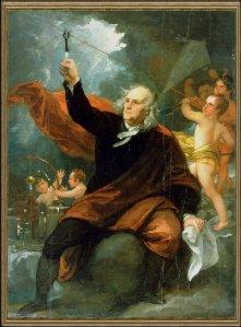 Benjamin Franklin lightning