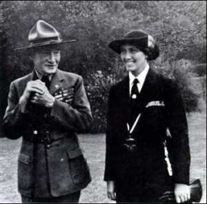 Lord and Lady Baden Powell