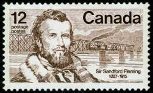 Sir Sanford Fleming Stamp