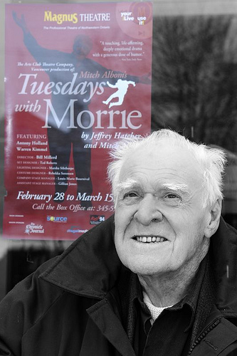 "essays on tuesdays with morrie on the theme Tuesdays with morie ""i've got so many people who have been involved with me in close, intimate ways and love is how you stay alive, even after you are gone,."