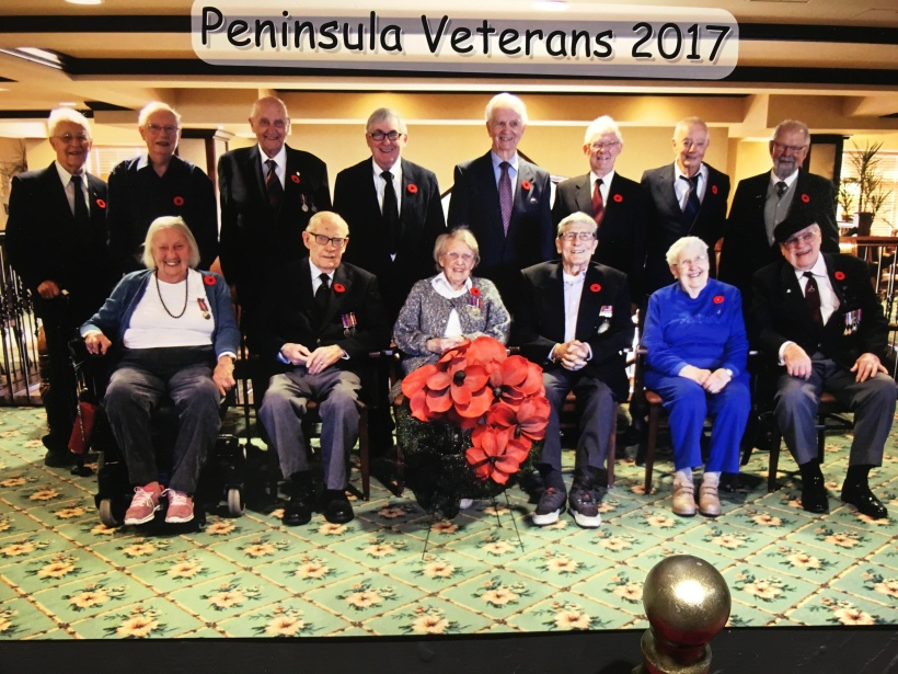Peninsula Remembrance Day 2