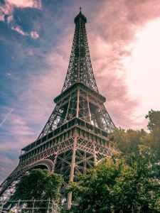 eiffel tower in paris france